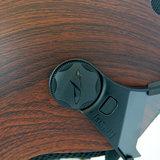 cp270310-carachillo e bike helm cubic wood - beste fietshelm vizier