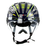 casco speedairo 2 rs blauw neongeel race fiets helm - beste racefietshelm - voor
