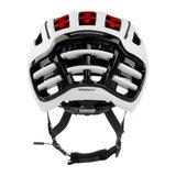 casco speedairo 2 wit race fiets helm - beste racefietshelm schaatshelm - achter
