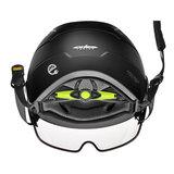 CP Chimayo+ zwart - speed pedelec helm - e bike helm - achter