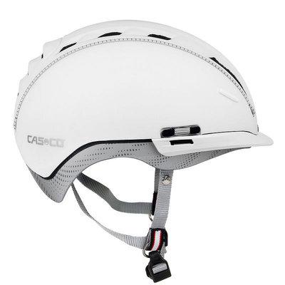 Casco Roadster wit e-bike helm - Met zon beschermer