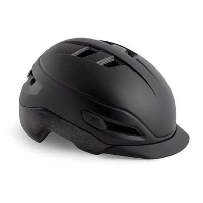 MET Grancorso Zwart - Speed Pedelec helm - Kan met vizier en verlichting!