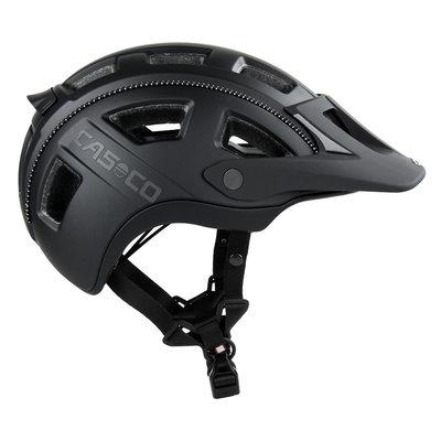 Casco MTBE 2 zwart mtb helm - trendy mountain bike helm met heerlijke pasvorm