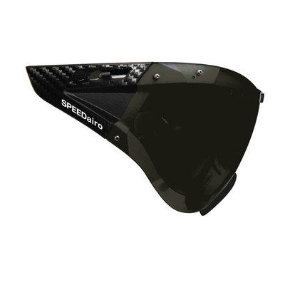 Casco Speedmask Carbonic grijs Vizier - Voor Casco Roadster en Casco Speedairo Fietshelmen