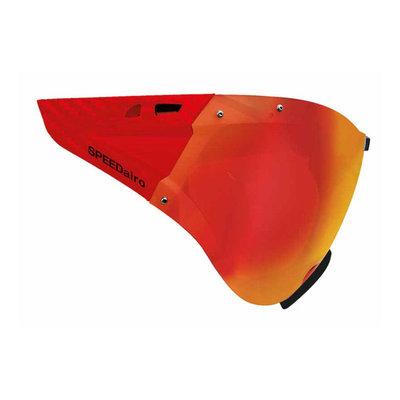 Casco Speedmask Carbonic rood Vizier - Voor Casco Roadster en Casco Speedairo Fietshelmen