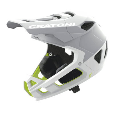 cratoni Interceptor 2.0 wit mat - mtb helm full face - Super Licht & Veilig - keuze uit 3 varianten!