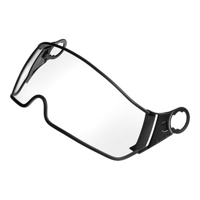 CP Bicycle Helmet visor loose - Transparent (clear) - Fits on CP Carachillo and Chimayo+