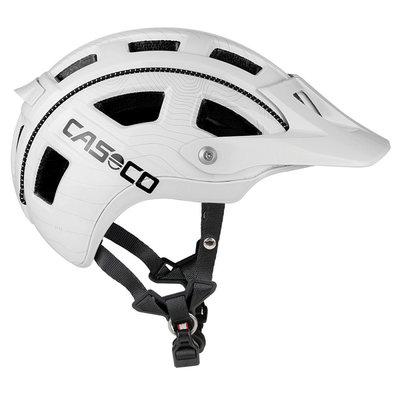Casco MTBE wit mtb helm - lichte trendy mountainbike helm - heerlijke pasvorm