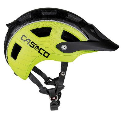 Fietshelm Casco MTBE - neon-zwart - ideale mtb helm