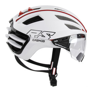 casco speedairo 2 rs wit race fiets helm - beste racefietshelm - zijkant